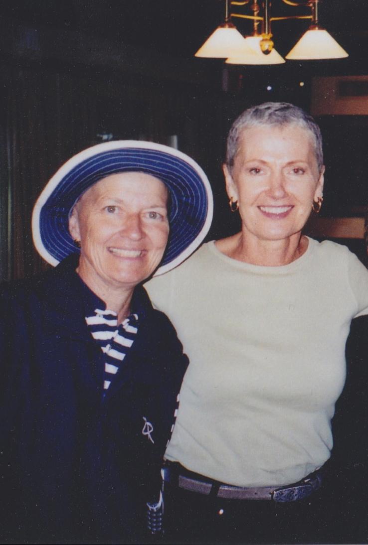 Ruth and Pat Cooper